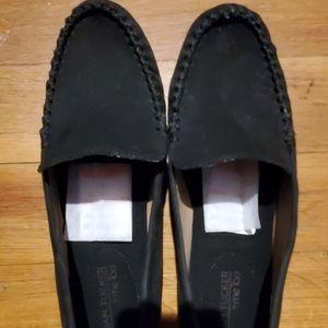 Adam Tucker Suede Loafers